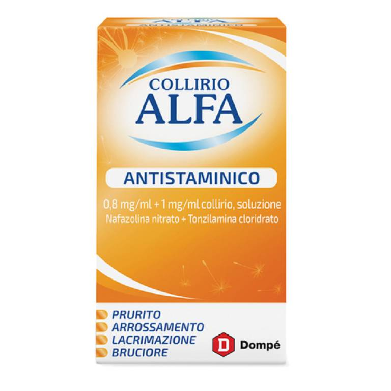 COLLIRIO ALFA ANTISTAM*10ML